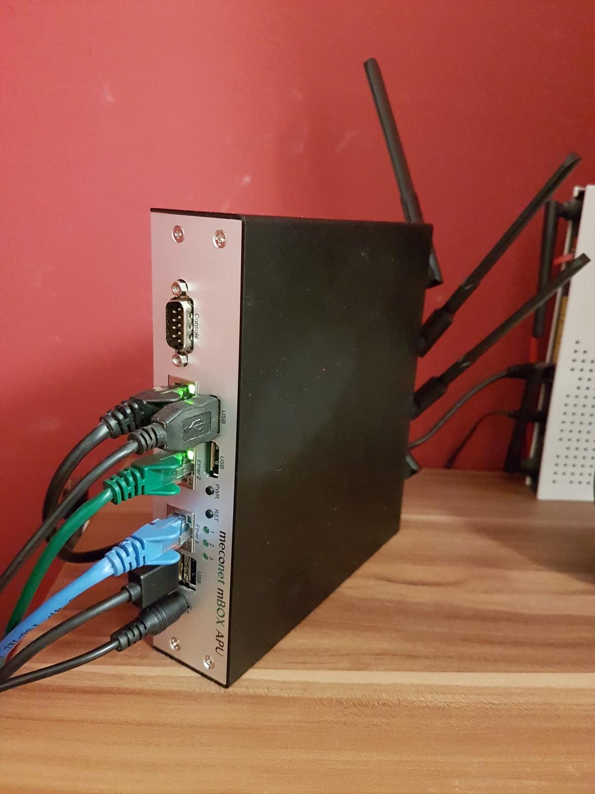 DIY CentOS 7 Router/NAS - brouken com